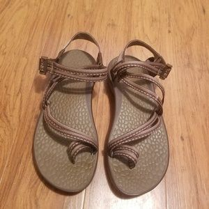 Chaco Hiking Sandals Womens Size 8 Brown
